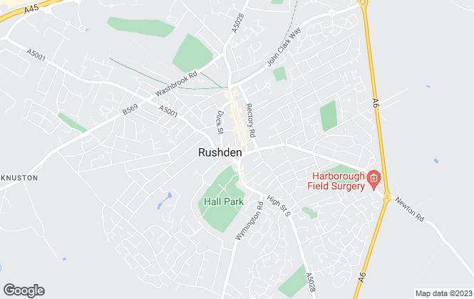 Map for Windsor Estate Agents, Rushden