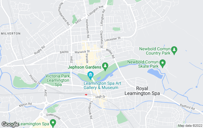 Map for Leaders Sales & Lettings, Leamington Spa