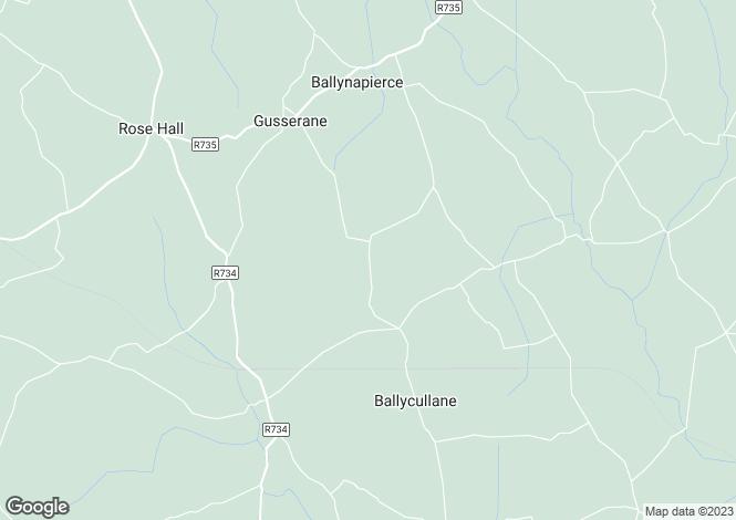 Map for Ballycullane, Wexford
