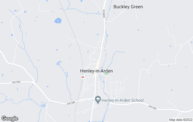 Map for The Agents Property Consultants, Henley In Arden