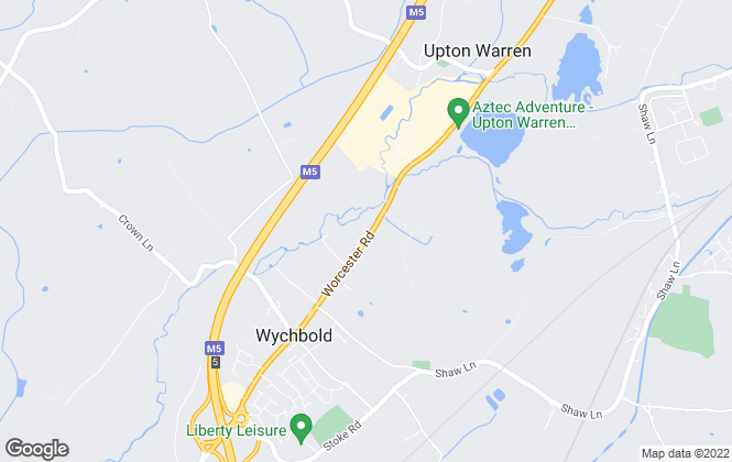Map for Karen Seager Sales & Lettings, Wychbold