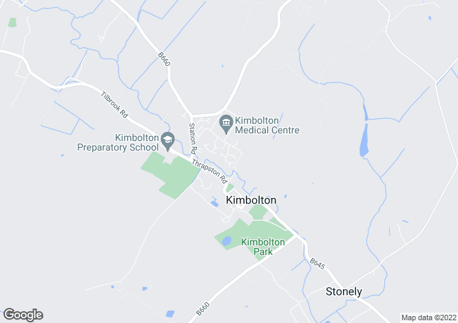 Map for Constables Leys,