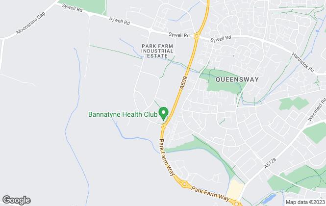 Map for Marshall & Cross, Wellingborough