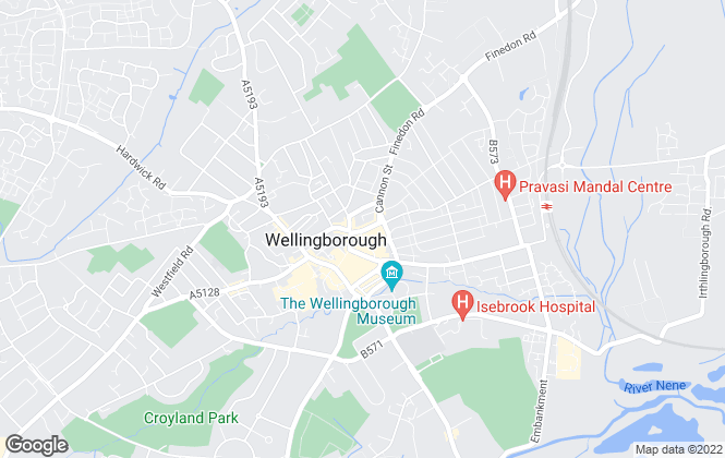 Map for Marshall & Cross, Wellingborough