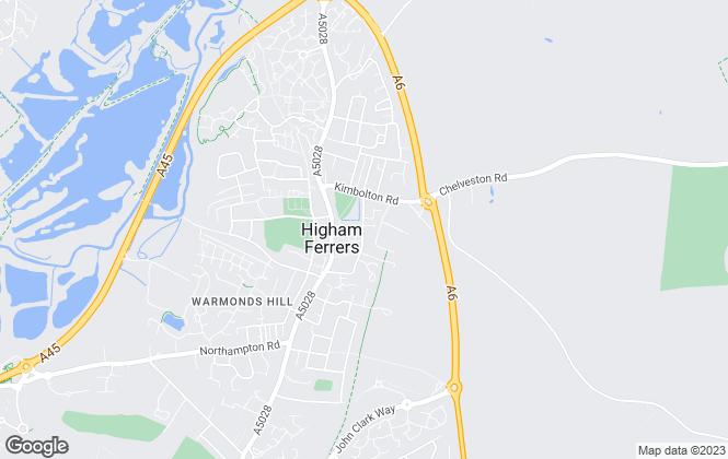 Map for Rockingham Forest Housing Association, Rockingham Forest Housing Association