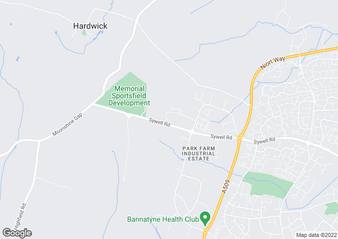 Map for Edison Close, Park Farm Industrial Estate, WELLINGBOROUGH, Northamptonshire