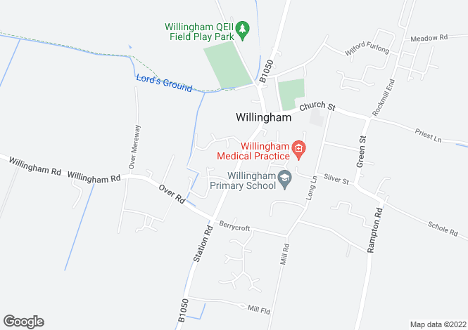 Map for High Street,Willingham,Cambs,CB24 5ES
