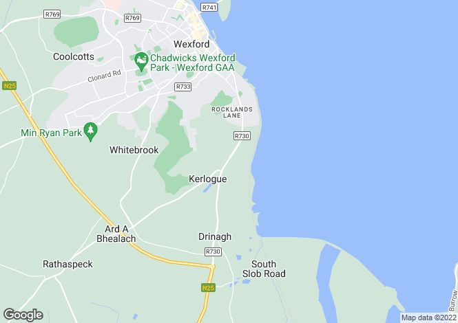 Map for Rocksborough, Wexford, Co Wexford