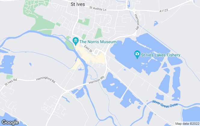 Map for Maxine Lester Lettings and Property Management, St. Ives