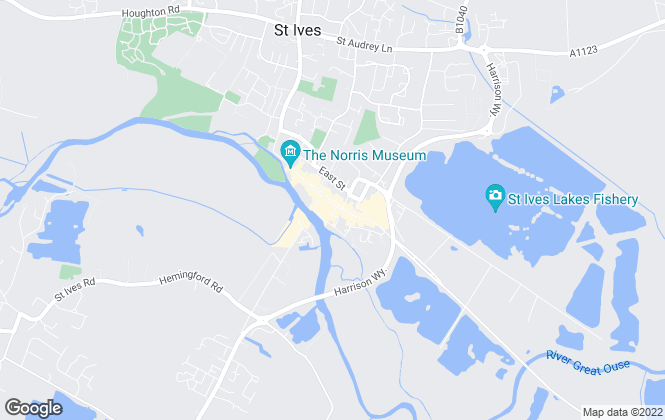 Map for Ellis Winters Estate Agents, St Ives - Exclusive & New Homes