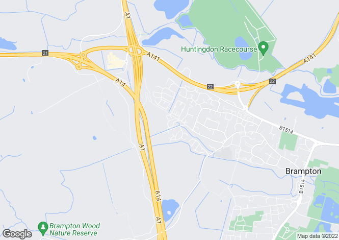 Map for Hansell Road,