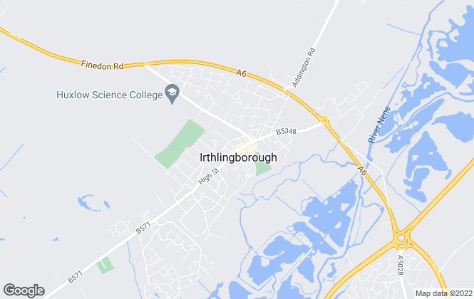 Map for Bywater Herring, Irthlingborough
