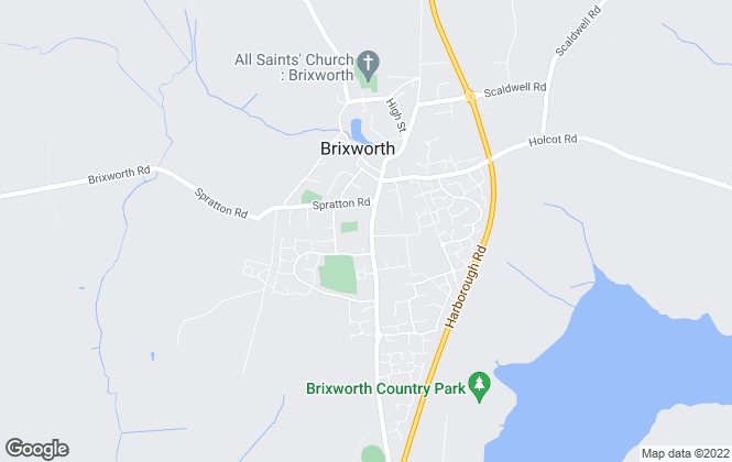 Map for O'Riordan Bond, Brixworth