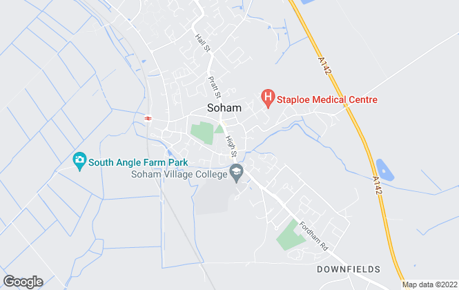Map for 365 Residential , Soham