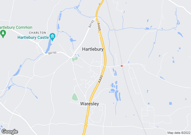 Map for Inn Lane, Hartlebury, Worcestershire, DY11