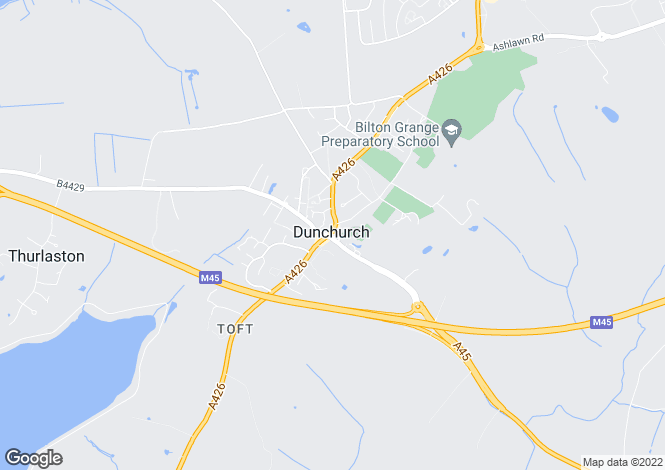 Map for The Square, Dunchurch