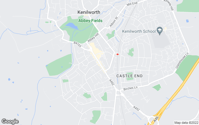 Map for Atkinson Stilgoe, Kenilworth