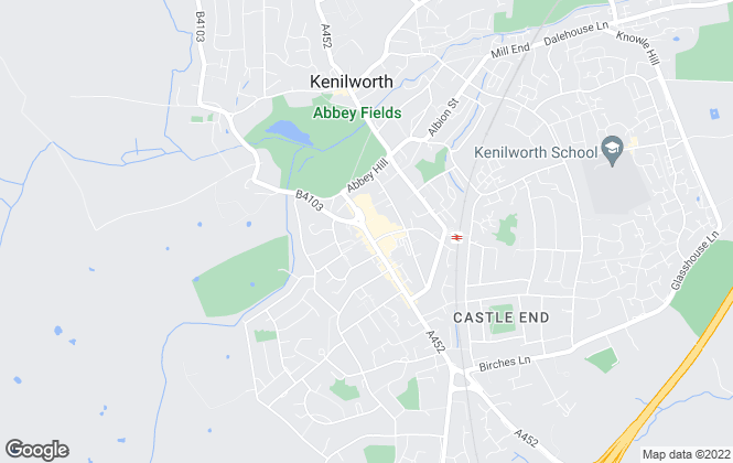 Map for Knight & Rennie, Kenilworth