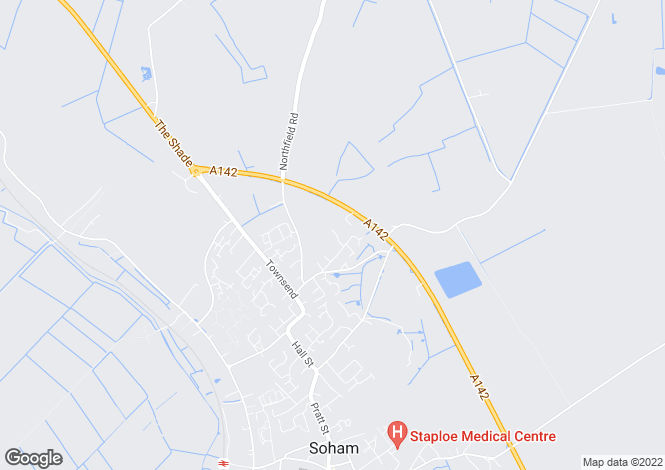 Map for St. Felix Close, Soham