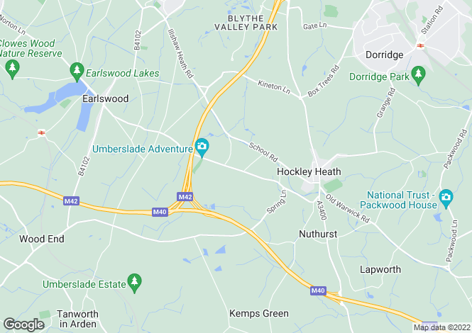 Map for Development Opportunity, Hockley Heath, Hockley Heath, West Midlands
