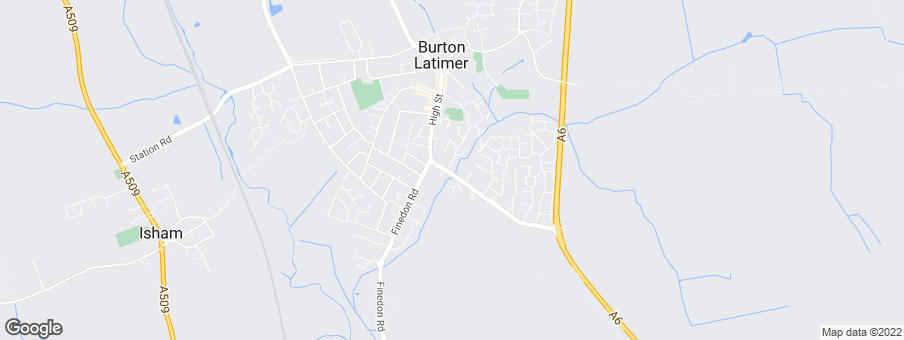 Map for Latimer Gardens development by David Wilson Homes