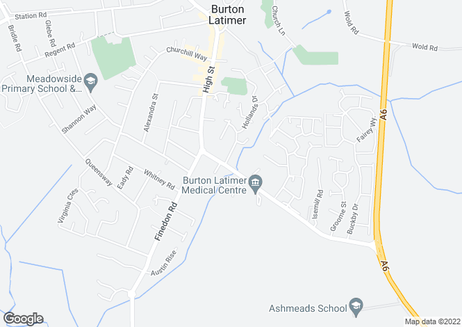 Map for Barwick at Latimer Gardens, Higham Road,