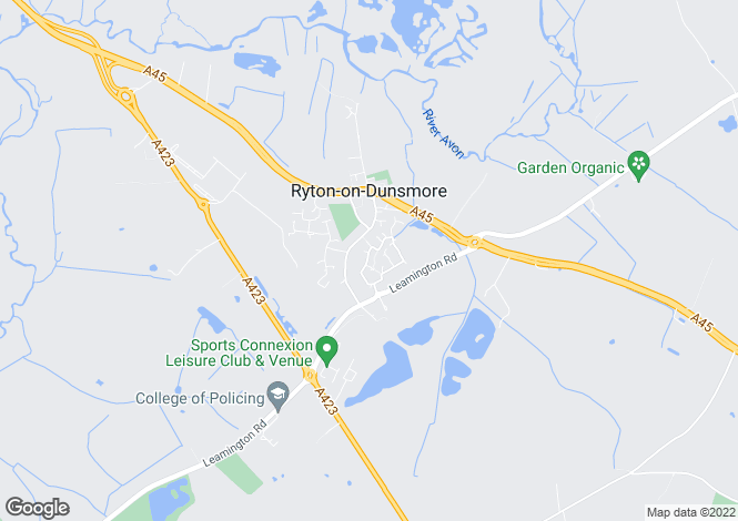 Map for Holly Drive, Ryton On Dunsmore