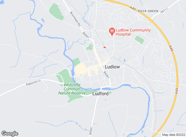 Map for Chesterton Humberts, Ludlow