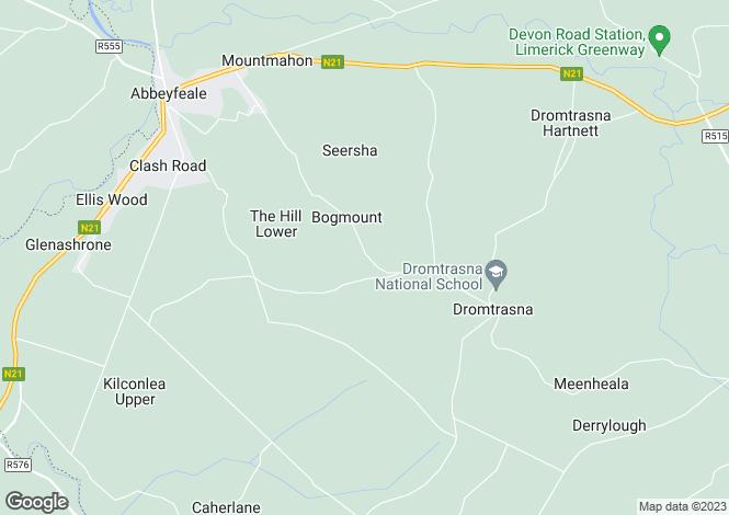 Map for Dromtrasna, Abbeyfeale, Co. Limerick, V94 VFP2