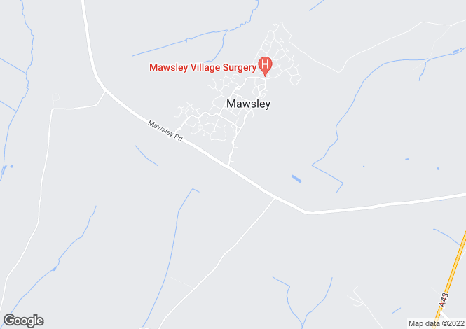 Map for Mawsley Lodge, Mawsley, Kettering, Northamptonshire, NN14