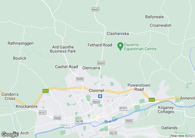 Map for 48 Crann Ard, Clonmel, Tipperary