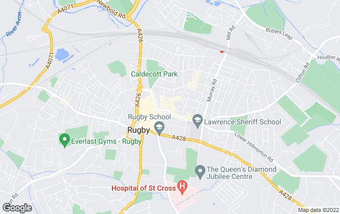 Map for Cadman Homes, Rugby