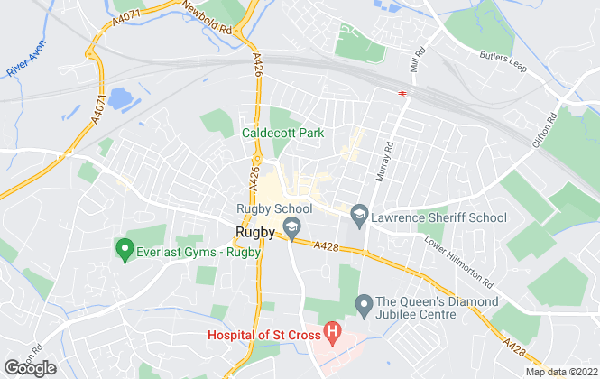 Map for Brown & Cockerill Property Services, Rugby