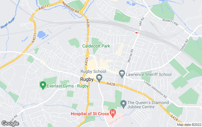 Map for Newman Property Experts, Rugby