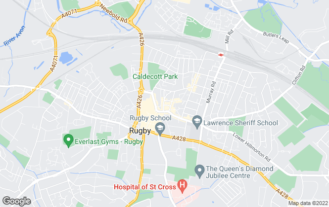 Map for Edward Knight Estate Agents, Rugby