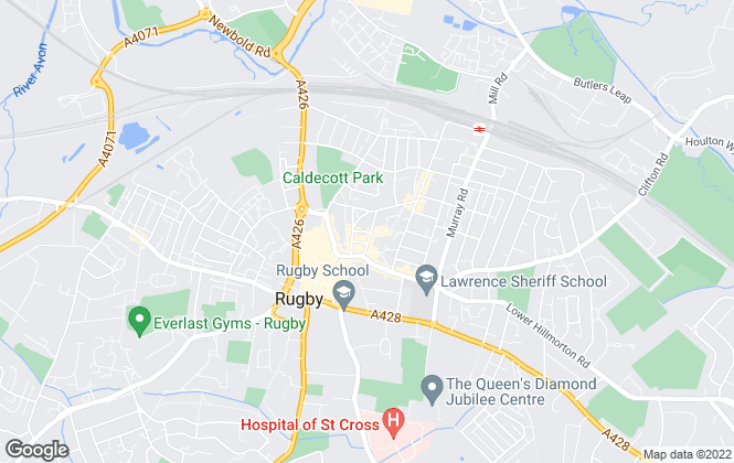 Map for Thornton Robson, Rugby