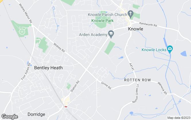 Map for Retirementmove head office, Birmingham