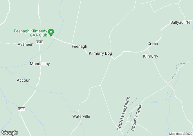 Map for Kilmurray, Feenagh, Limerick