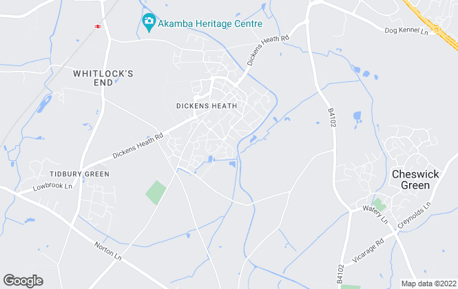 Map for Smart Homes Ltd, Dickens Heath - Lettings