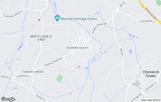 Map for John Shepherd, Dickens Heath