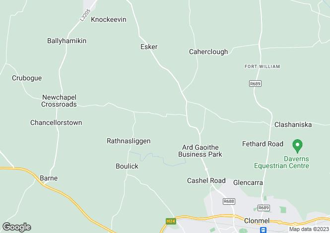 Map for Giantsgrave, Clonmel, Co. Tipperary, E91 V627