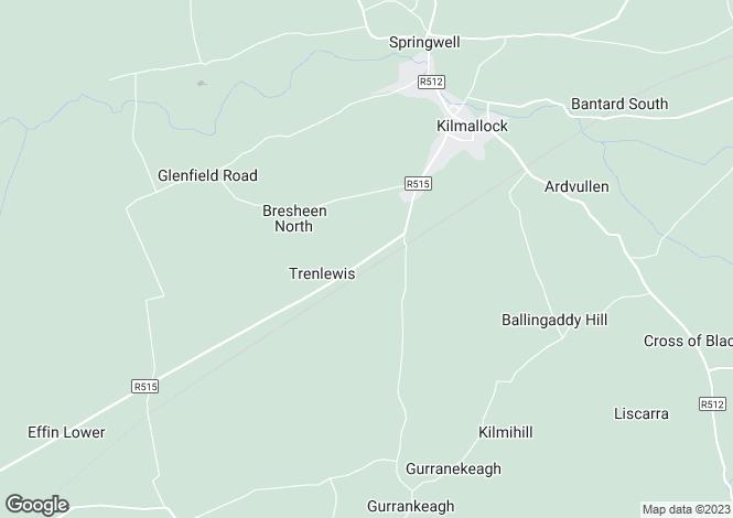 Map for Kilmallock, Limerick