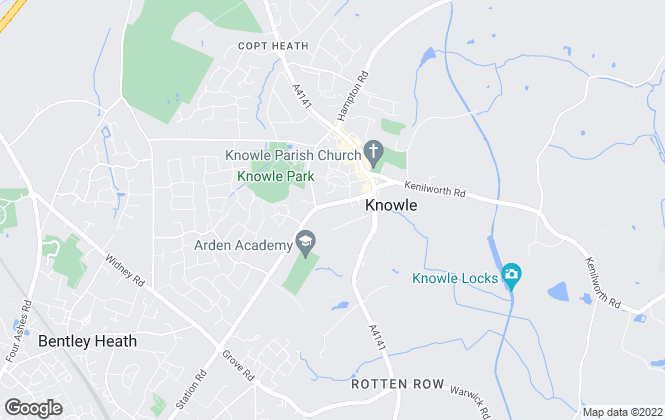 Map for Senate Property Services, Knowle