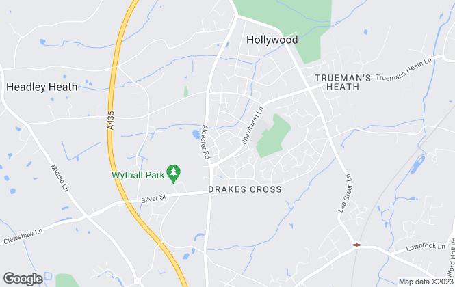 Map for Warren & Co Residential Lettings, Birmingham