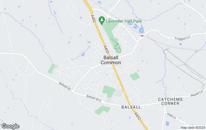 Map for Atkinson Stilgoe Lettings, Balsall Common