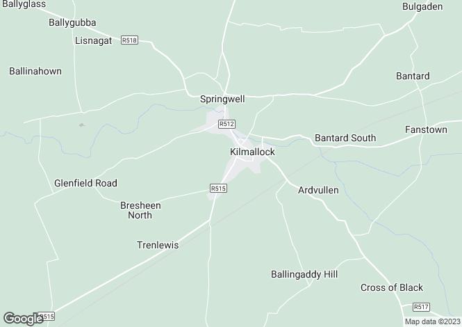 Map for 119 Ash Hill Manor, Kilmallock