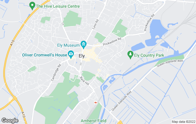 Map for Abbotts, Ely
