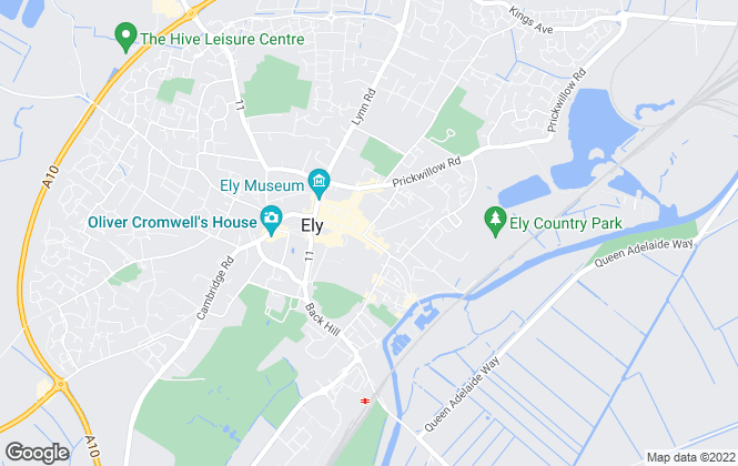 Map for Cheffins Residential, Ely