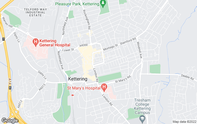 Map for Hunters, Kettering