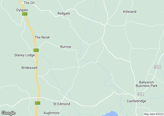 Map for Crossabeg, Wexford